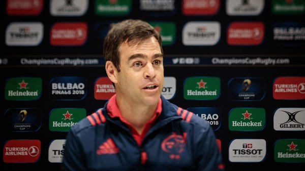 Johann Van Graan: 'When a game of this magnitude enters the final ten minutes, you need to be composed'