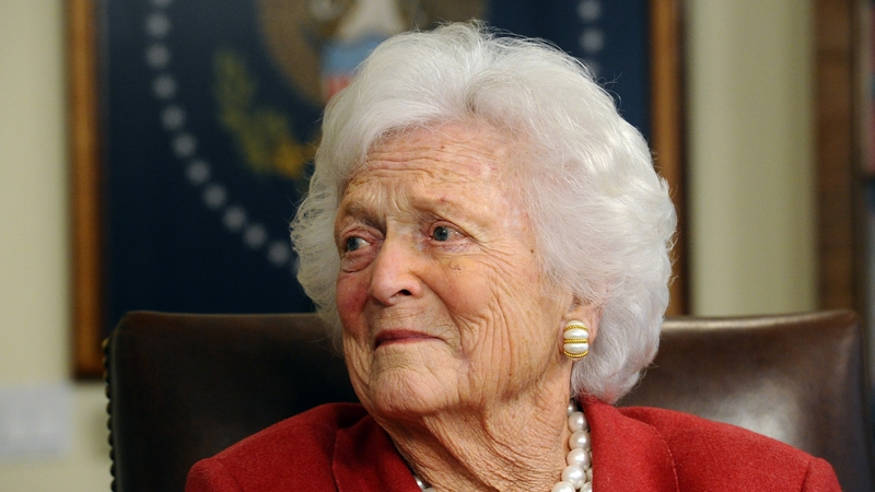 Image result for U.S. first lady Barbara Bush