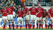 Munster players dejected following their one point defeat to Toulouse in the 2003 European Cup semi-final