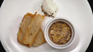 Kate Lawlor's Chicken Liver Crème Brûlée