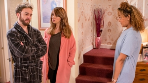 Maria finds out that Emma and David have slept together on Corrie