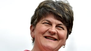Arlene Foster said she did not sign a blank cheque for the RHI scheme