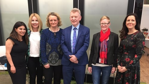 Coral Movasseli, Taragh Loughrey-Grant, Dr Andrew Power, Claire Bauden & Sonya Curley