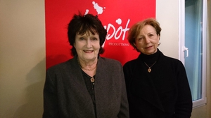Eavan Boland with Poetry Programme host Olivia O'Leary in 2018
