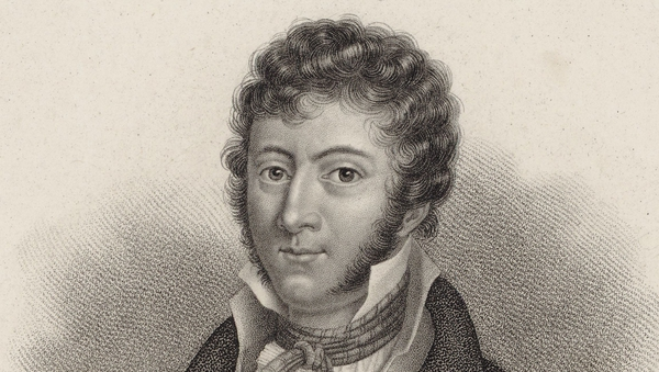 Do you recognise this man? Portrait of Irish composer John Field (1782-1837). Image: Fine Art Images/Heritage Images/Getty Images