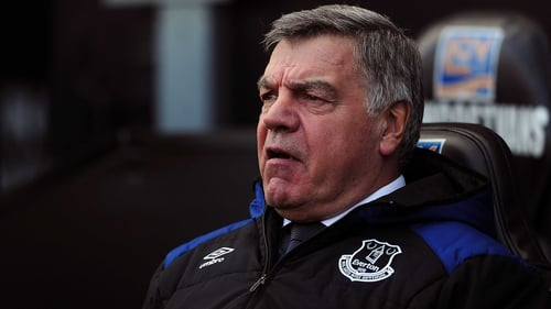 Sam Allardyce looks to be staying at Everton