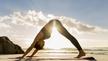 Maria Colemann agus Linda Ní Ghallchóir-Yoga