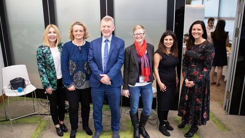 Taragh Loughrey-Grant, Maeve MacEnri, Dr Andrew Power, Claire Bauden, Coral Movasseli & Sonya Curley