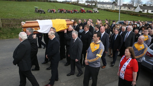 Funeral of 'Big Tom' takes place in County Monaghan
