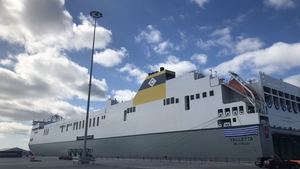 The MV Celine is the world's largest short sea Ro-Ro ship