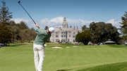 Rory McIlroy playing a round at the revamped Adare Manor as Ireland bid to host the 2026 Ryder Cup