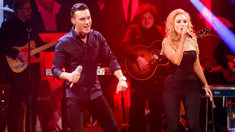 Nathan Carter and Cliona Hagan | The Late Late Show