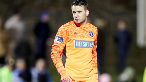 Brendan Clarke will be available for selection for the Dundalk game