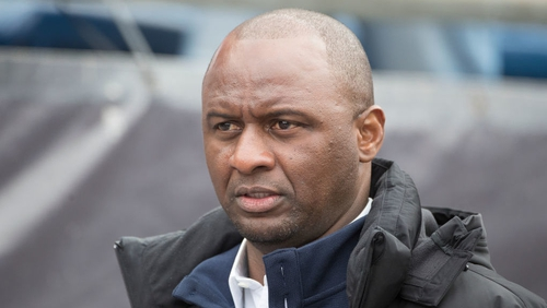 Patrick Vieira has been linked to managing Arsenal