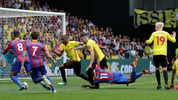 Albion remain above Crystal Palace in Premier League table