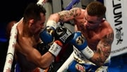 Carl Frampton controlled the fight from the early rounds at the Belfast venue