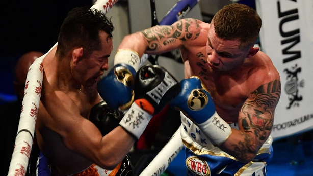Carl Frampton defeats Tyler McCreary in unanimous decision
