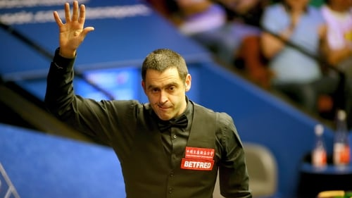 Ronnie O'Sullivan was too strong for Ryan Day