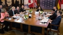 The ministers, meeting in Toronto for two days, discussed tension with Russia, Iran and North Korea