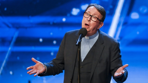 Father Ray Kelly - Singing this week for a place in the Britain's Got Talent final