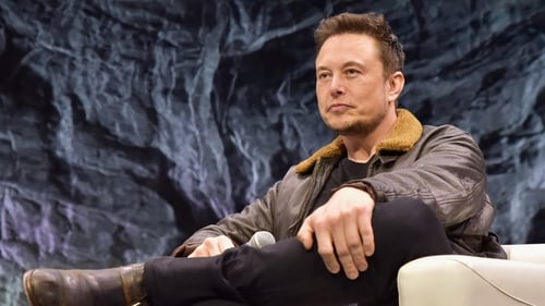Elon Musk in interview mode. Photo: Chris Saucedo/Getty Images for SXSW