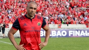 "Simon Zebo: ""It was a great moment for me and my family, to get such a nice reception from the crowd."""