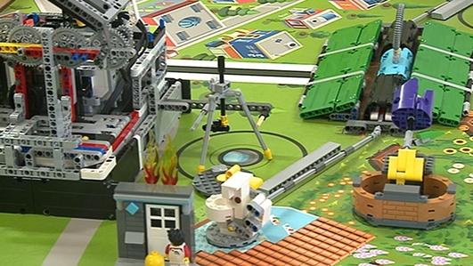 Lego League regional final in Monaghan