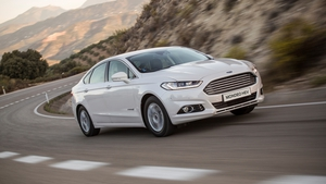 The hybrid Mondeo has a 2.0 litre petrol engine & two electric motors