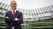 Ian Rush at the Aviva Stadium in Dublin