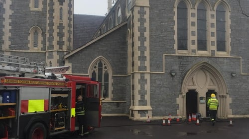 The alarm was raised atHoly Cross Catholic Church in Kenmare his morning