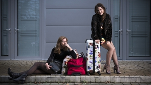 Seána Kerslake (L) and Nika McGuigan are back as Aisling and Danielle but are happier in this promo shot than they are in the new series