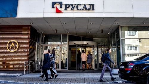 Rusal's headquarters in Moscow
