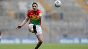 Brendan Murphy in action during the Division Four Final defeat to Laois in Croke Park