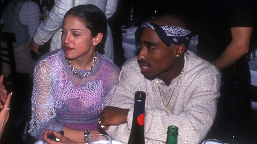 Madonna and Tupac, pictured in 1994