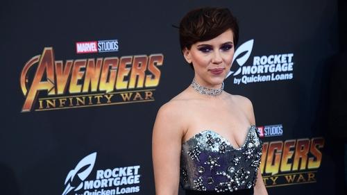 Scarlett Johansson among stars at Avengers: Infinity War premiere