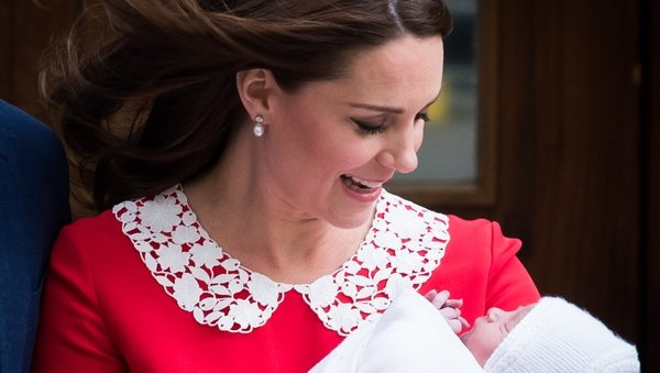 Kate and William have named their baby son Louis Arthur Charles