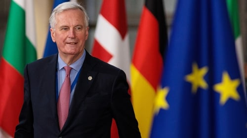 Michel Barnier called on the UK government to come up with its vision for the future that either finalised or changed its 'red lines'