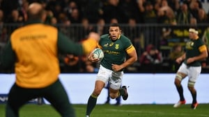 Bryan Habana in action for South Africa in 2016