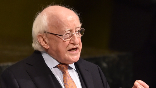 President Higgins addressed the Fórsa biennial conference in Killarney this evening