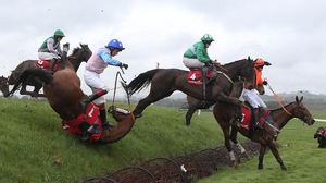 Racing at Punchestown gets under way at 3.40pm