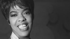 The singer Joy Marshall in 1964