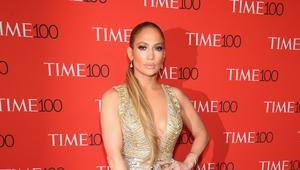 Jennifer Lopez attends the Time 100 Gala.