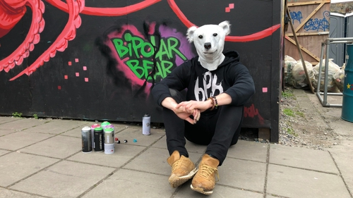 Stephen Considine created the character of Bipolar Bear as a way to change attitudes towards discussing mental health issues