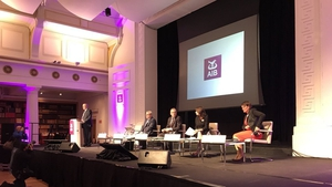 Addressing shareholders, AIB Chairman Richard Pym said AIB is one of only three banks subject to pay caps in Ireland and its remuneration structure is 'significantly out of line' with its peers
