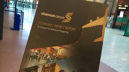 The Shannon Group report said  strongairports are the lifeblood of regions