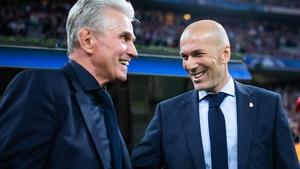 It's advantage Zidane after the first leg in Germany