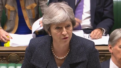 Theresa May is facing crucial Commons votes on the EU Withdrawal Bill