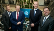 Pictured at the opening of New Relic's new European HQ in Dublin were Mark Sachleben, New Relic; Minister Pat Breen; Glenn Cahill, New Relic and Martin Shanahan, IDA Ireland