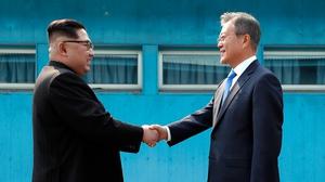 North Korean leader Kim Jong Un and South Korean President Moon Jae-in will meet in Pyongyang next month