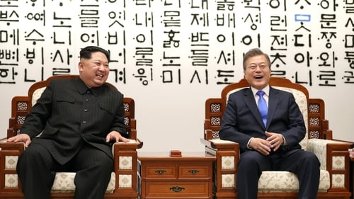 Kim Jong-un and Moon Jae-in met in 2018 for a series of summits
